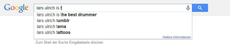 Lars-Urlich-Google