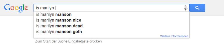 manson Google Suche