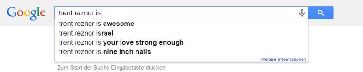 Trent Raznor Google Suche