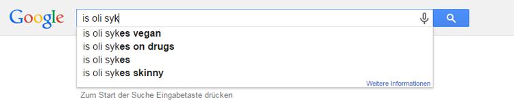 sykes Google Suche