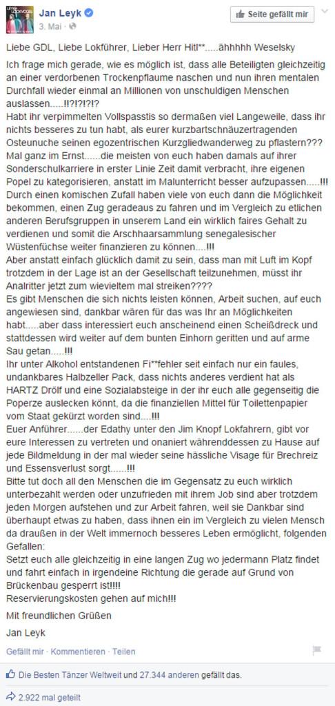 2--Jan-Leyk---Liebe-GDL--Liebe-Lokführer--Lieber-Herr..