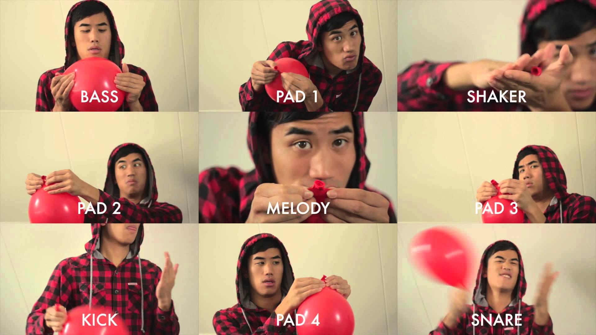 99-Luftballons-Gespielt-Auf-Einem-Ballon